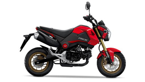 MSX 125 - Colour Red, CMG, Chelsea Motorcycles Group. London