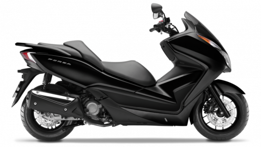 Honda scooters - NSS300 Forza, black colour, UK