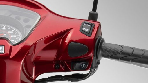 Vision 110 Scooter - Red colour, CMG Shop, UK
