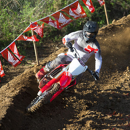 Honda CRF250R motorbike - off-road race